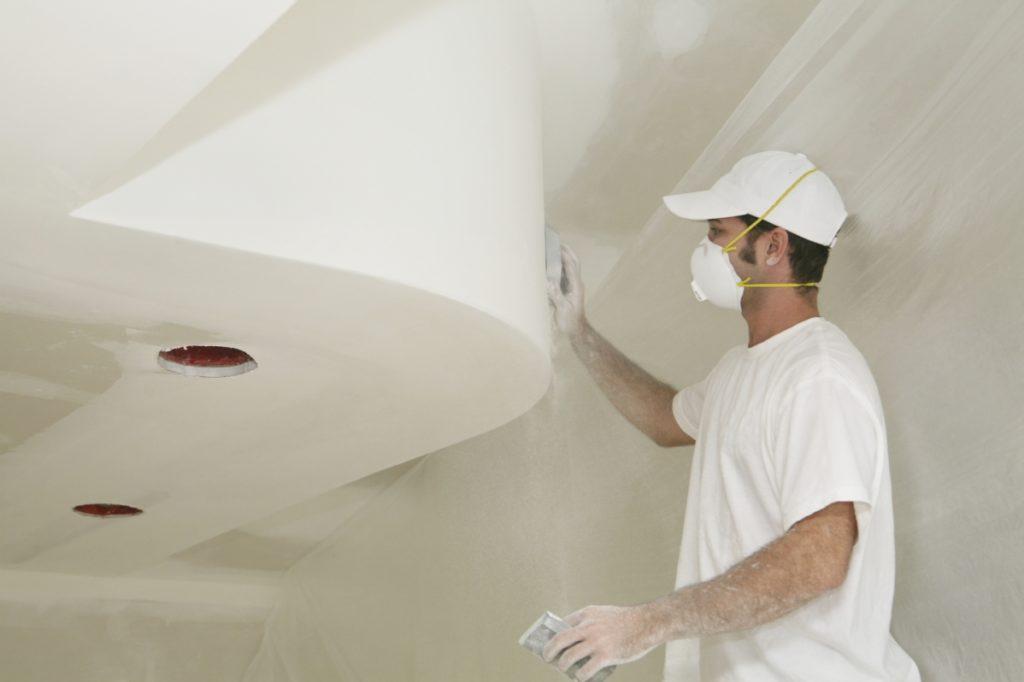 покраска стен из гипсокартона своими руками