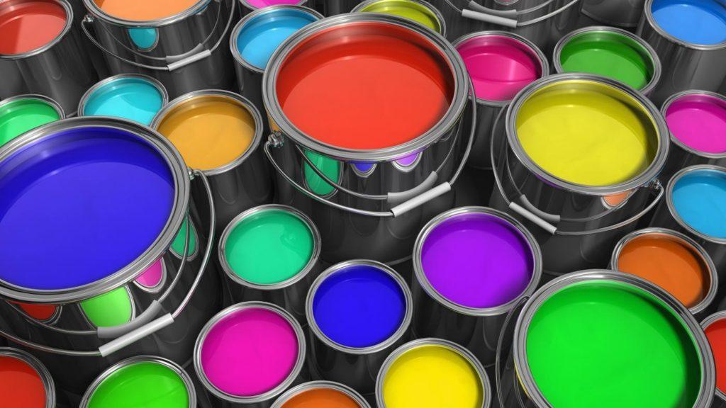 краска-цветная