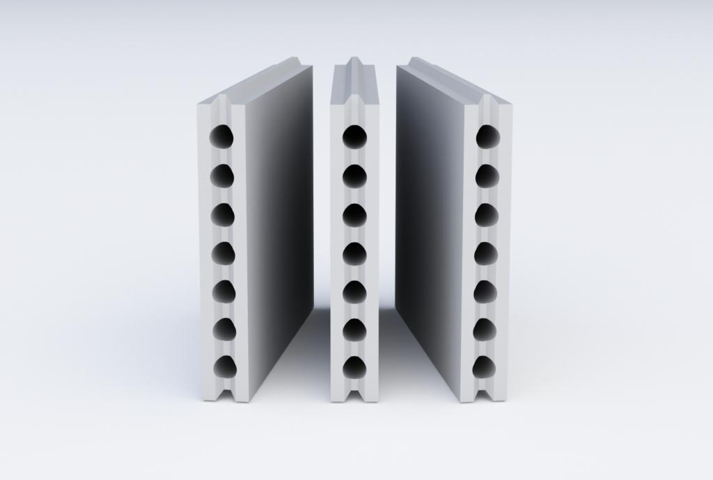 блок для стеновых перегородок